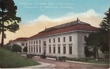 Antique POSTCARD c1910s California Boalt Hall University BERKELEY, CA Unused