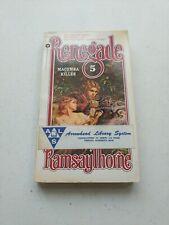 Macumba Killer by Ramsay Thorne, Renegade Book #5  (1980, Warner)
