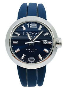 Orologio Locman Change 422ABGB/395 Acciaio 3 Bracciali 46mm Scontatissimo Nuovo