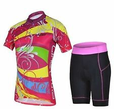 Multi-Coloured Cycling Jersey and Pant/Short Set
