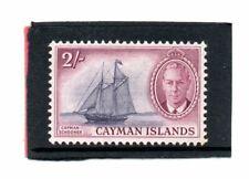 Cayman Islands GV1 1950 2s. violet & reddish purple sg 145 VLH.Mint