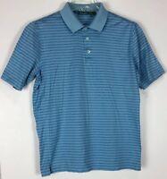 mens bobby jones polo shirt Medium short sleeve striped cotton