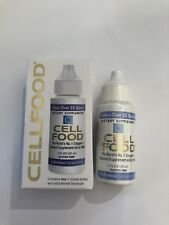 CELLFOOD Nuscience DIETARY SUPPLEMENT NUTRIENT Cell Food Liquid Drops NIB 2/2020