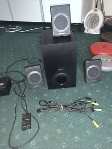 Creative Inspire P580 5.1 Multimedia / Surround Sound System Working Cheap