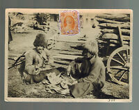 1930 RUSSIA USSR Real Picture Postcard Cover Turkestan Men