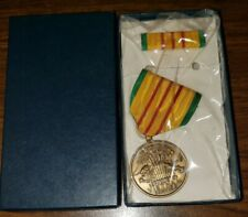1969 Dated Vietnam Service Medal in box with Ribbon - Full Size