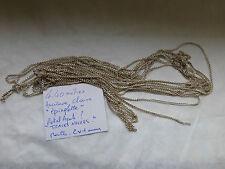 4,40 m chaine epinglette métal argenté fabrication ancienne française1960  à 7 €