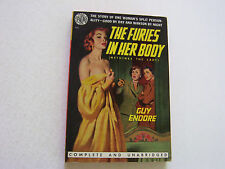 THE FURIES IN HER BODY  1951  GUY ENDORE  SEXY BEAUTIFUL COVER  NEAR MINT-