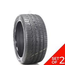 Set Of 2 Used 28535zr19 Pirelli P Zero 103y 65 732