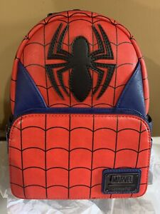 Loungefly Marvel Avengers ⭐️SPIDER-MAN ⭐️ Cosplay Mini Backpack NWT HTF Sold Out
