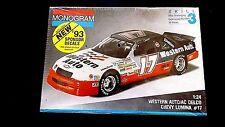 Model Kit NASCAR #17 Darrell Waltrip Western Auto Chevrolet Lumina Monogram 1:24