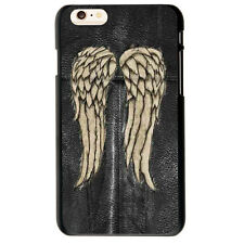 Daryl Dixon Wings the Walking Dead Soft TPU Case Cover For iphone 6S 7 8 Plus X