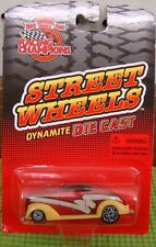 Racing Champions, 1:64 3+ 1999  Boys  Street Wheels Dynamite  Red W Ylw. Fenders
