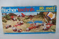 Fischertechnik Fischer Technik 50 + mot 1 basisdoos met motor boxed 2