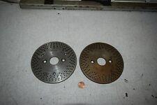 Bidgeport Dividing Indexing Head Plates Set Of 2