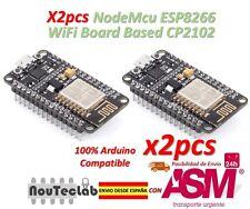 2pcs NodeMcu Lua WiFi Internet of Things development Board based ESP8266 CP2102