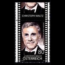 "Austria 2017 - Austrians in Hollywood ""Christoph Waltz"" Actor - MNH"