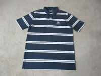 Nike Golf Tour Performance Polo Shirt Adult Large Gray White Myrtlewood Dri Fit