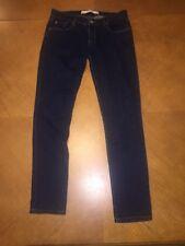 Abercrombie Fitch Denim Skinny Stretch Mid Rise Jeans Junior's Size 2 Regular