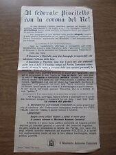 Scissione del Partito Comunista di Augusta per colpa di Piscitello e Boscarino