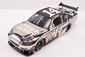 2009 Tony Stewart #14 POLISHED NICKEL Office Depot FRFO ARC 1/24 Diecast Car