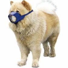 "Canine Dog Muzzle Chow Short Snouted Quick Muzzle Medium 9.5"" Blue"