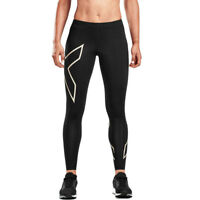 2XU Womens TR2 Compression Tight Black Sports Running Breathable Lightweight