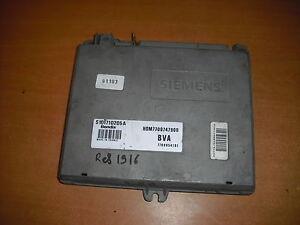 calculateur une prise siemens HOM7700747900 /7700854161 /S101710205A (ref 1916)