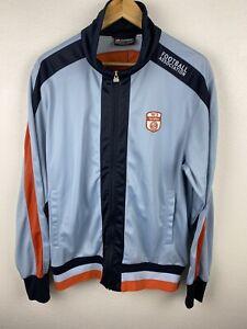 Lotto Italian Sport Football Association Mens Bomber Jacket Size XL Full Zip