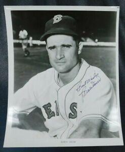 signed autographed photograph baseball hall of famer bobby doerr