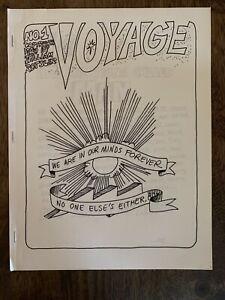 Rare 1969 Fanzine VOYAGE #1 William Rotsler Hippie LSD Free Love Zine Star Trek
