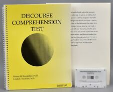 Discourse Comprehension Test 1993 Communication Skill Builders Brookshire N13
