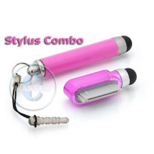 RETRACTABLE STYLUS 30pin PEN TOUCH SCREEN FOR IPHONE 3G 3GS 4 4S IPAD 3 2 1 PINK