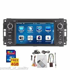 New! Car DVD In-Dash GPS Navigation for Jeep Grand Cherokee Dodge RAM Chrysler