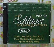 Schlager des Jahrhunderts 2:Nicki, Rocco Granata, Andrea Jürgens, Frank.. [2 CD]