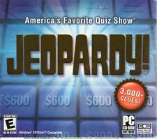 JEOPARDY! America's Favorite Quiz Show (PC-CD, 2003) for XP/Vista - NEW in JBox