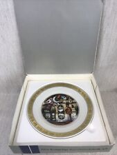 "Royal Copenhagen The Hans Ch. Andersen Plates "" The Steadfast Tin Soldier"""