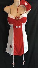 Flirty Nurse costume - womens medium - Elegant Moments 9084 - NIP