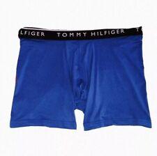 TOMMY HILFIGER Stretch Cotton Classic Boxer Brief Size XL Blue