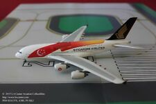 Phoenix Model Singapore Airlines Airbus A380 50th Yrs Color Diecast Model 1:400