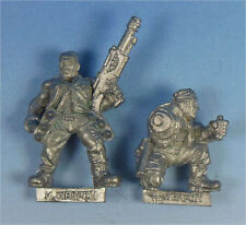 CITADEL - Imperial Guard - Catachan Jungle Fighters - Missile Launcher Crew  40K