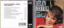 HELEN MERRILL/SINGS COLE PORTER.CD.USA.