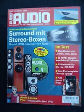 AUDIO MIT AUDIOPHILER CD,BOSE 4,UNKOMPRIMIERT,ELAC FS 249,JAMO C 807,CANTON 507