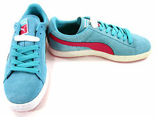 Puma Shoes Suede Classic + LFS Baby Blue Sneakers Size 10