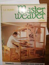 Master Weaver Library Vol 5 Warps and Warping