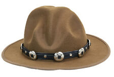 Mountie Hat Round Concho Wool Top Hat Premium Quality Party on!