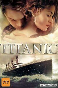 Titanic (DVD, 1997) FREE POST