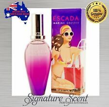 MARINE GROOVE 50ml EDT  By ESCADA  Spray Perfume  For Women  NEW In Box (BNIB)