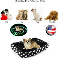 Pet Dog Cat Bed Puppy Cushion House Soft Warm Kennel Mat Blanket Washable 82
