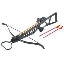 120lb Fiber Black Metal Hunting Crossbow with 2 Arrows